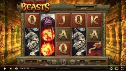 Habanero to roll out newest slot game Four Divine Beasts