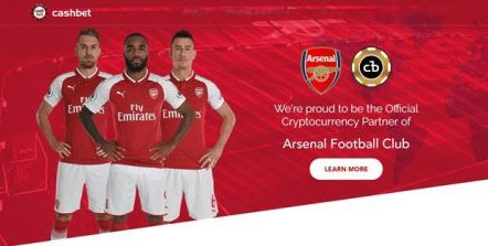 Arsenal F.C. agrees cryptocurrency sponsorship deal