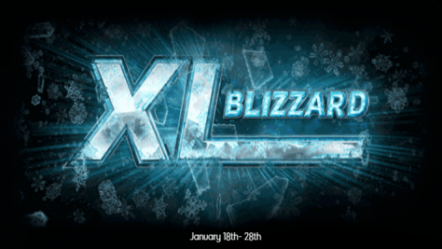 XL Blizzard poker series begins January 18th