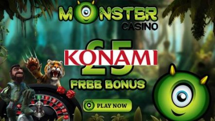 Monster Casino agrees to content deal with Konami