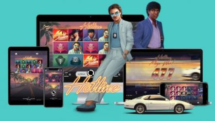 NetEnt AB goes back in time with new Hotline video slot