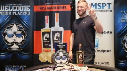 Himmelbrand wins second Mid-States Poker Tour title in MKE