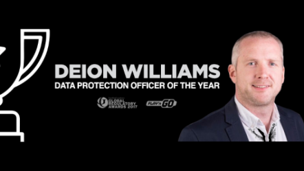 Play'n Go's Deion Williams named Data Protection Officer of the Year
