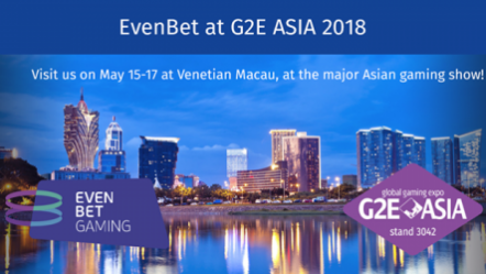 EvenBet to showcase new poker offering at G2E Asia