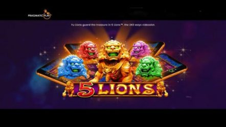 5 Lions roars out as Pragmatic Play's latest launch
