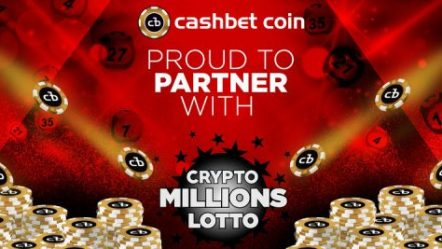 CashBet partners with coming CryptoMillionsLotto