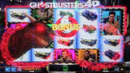 IGT launches new Ghostbusters 4D video slot