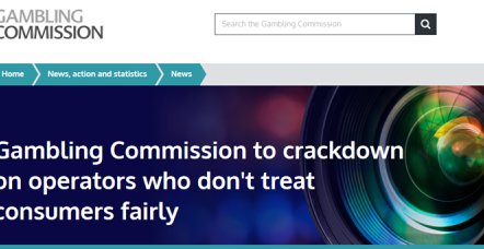 Gambling Commission to enforce new player protection rules this October