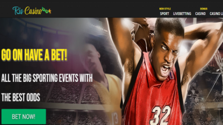 New online sports betting and casino site RioCasino launches