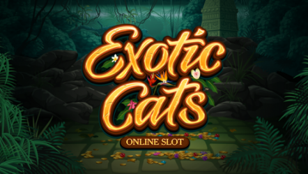 Microgaming unveils new slot game Exotic Cats
