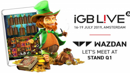 Wazdan to showcase Larry the Leprechaun slot at iGB Live!