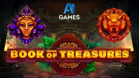 AGames releases new slot Book of Treasures