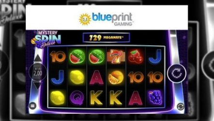 Blueprint Gaming launches retro Mystery Spin Deluxe Megaways featuring classic fruit symbols
