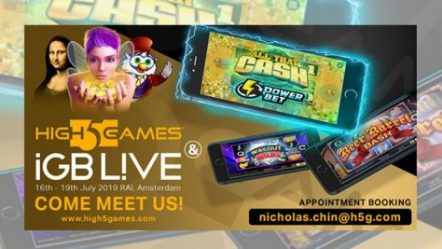 High 5 Games looks to build on expansion in Europe via iGB Live!