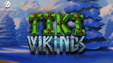 Microgaming and Just For The Win present wild island treat in exclusive new slot Tiki Vikings™