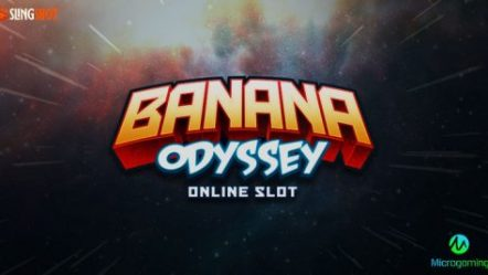 Microgaming and Slingshot Studios take us on a wild space adventure with new slot Banana Odyssey