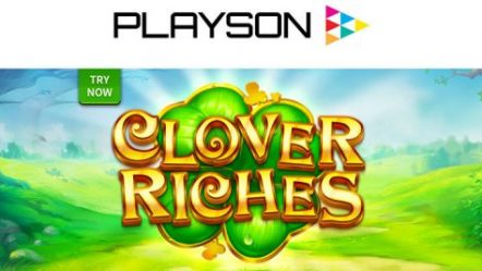 Playson releases new Irish-themed slot Clover Riches