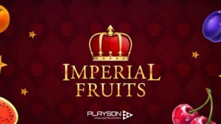 Playson's Timeless Fruit Slot Series now includes new Imperial Fruits: 100 Lines game