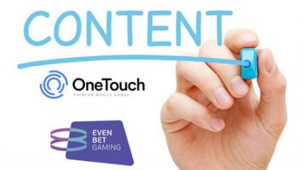 OneTouch goes live with EvenBet courtesy of recently agreed to partnership deal