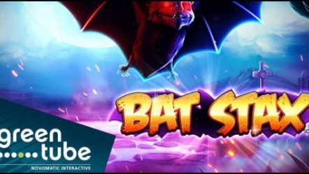 Greentube is getting in the Halloween mood with new Bat Stax video slot