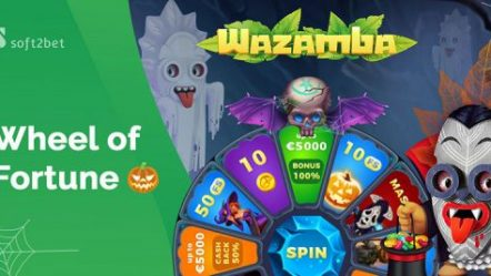 Soft2Bet launches Halloween-themed Wheel of Fortune at Wazamba