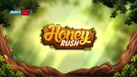 Play'n GO debuts its very first hexagonal cascading grid slot, Honey Rush