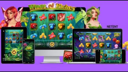 NetEnt AB takes flight with new Wings of Riches video slot