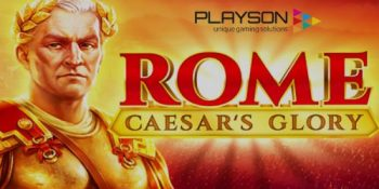 Playson expands game portfolio with the release of Rome: Caesar's Glory slot title