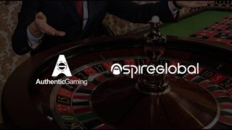 Authentic Gaming supplying live roulette action to Aspire Global sites