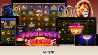Head to the African plains in NetEnt's new Serengeti Kings slot game