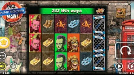 Nolimit City Limited delivering anarchy via new Punk Rocker xWays video slot