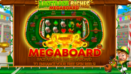 Planetwin365 to launch new Racetrack Riches Megaboard slot game of iSoftBet