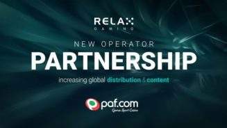 Relax Gaming agrees content deal with Paf: boosts distribution network