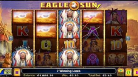 Lightning Box Games soars high with new Eagle Sun video slot