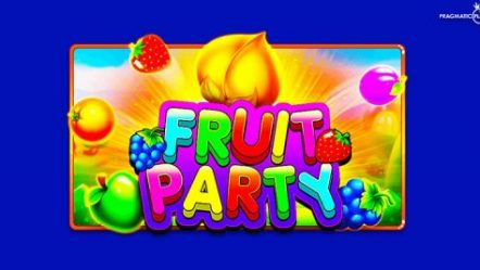 Get the party started with Pragmatic Play's new fruity feature-packed online slot