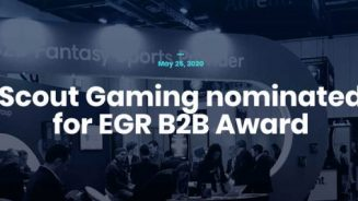 Scout Gaming nominated for EGR B2B Awards in Fantasy Sports Supplier category