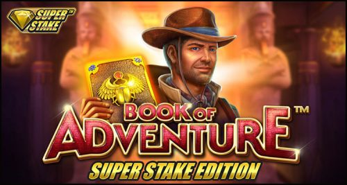 Stakelogic launches Book of Adventure: Super Stake Edition video slot
