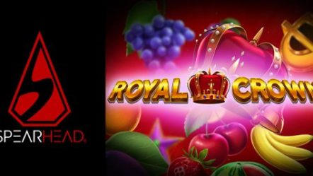 "Spearhead Studios unveils second ""Super July"" title Royal Crown with classic fruit slot appeal"