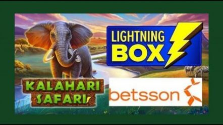 Lightning Box Games goes wild with new Kalahari Safari video slot