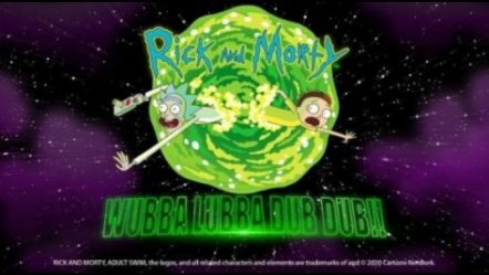 Rick and Morty Wubba Lubba Dub Dub launched by Blueprint Gaming Limited