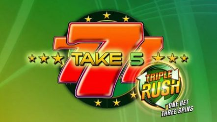 GAMOMAT launches new TRIPLE RUSH feature on Take 5 slot game