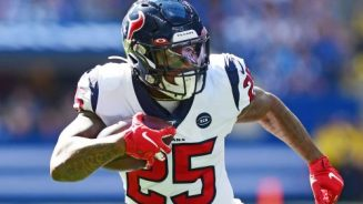 Running Back Duke Johnson of the Houston Texans is Released