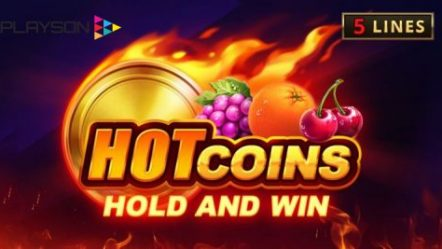 Playson launches sizzling new online slot: Hot Coins: Hold and Win