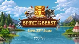 Relax Gaming travels to North America's Great Plains in new online slot, Spirit of the Beast