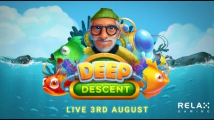 Relax Gaming Limited floats out its Deep Descent video slot